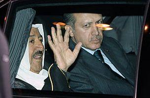 Başbakan Tayyip Erdoğan Kuveyt Emiri ile görüştü.13575