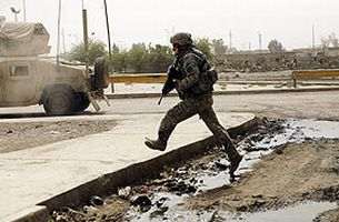 Irak'�n Sadr semtinde �at��malar: 8 �l�.18737