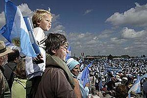 Arjantinli çiftçiler genel grevi askıya aldı.20574