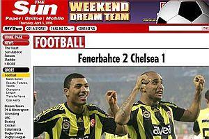 Fenerbahçe'nin 2-1'lik galibiyeti dünya basınında FOTO.22922