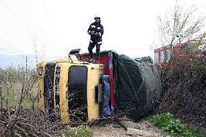 Sakarya'da feci kaza: 1 ölü 4 yaralı.19550