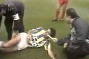 1992'deki TRT spor muhabiri.8821