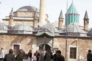 Kanuni, Mevlana'yı ziyaret etti.13747