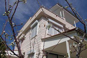 Marmaris'te kaçak villa yıkımına devam.39610