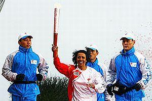 Çin depremi olimpiyat koşusunu geciktirdi.18331