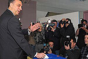 Karadağ'da devlet başkanlığı seçimi yapıldı.15906