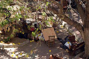 Mersin'deki 5 kişinin öldüğü baskından ilk fotoğraflar.24658