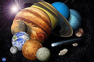 Güneş sistemi yumurta gibi!.19812