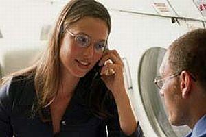 Uçaklarda cep telefonu serbest.11858