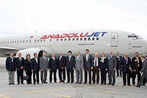 Anadolujet'in Ankara uçuşları doldu.12407