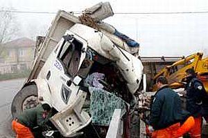 Samsun'da trafik kazası: 1 ölü.17828