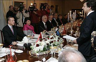Erdoğan, Barroso onuruna verilen yemekte konuştu.20567