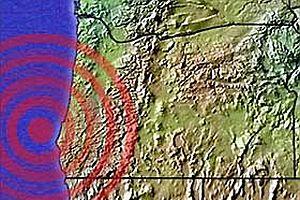 Oregon'daki sıradışı sarsıntılar.28449