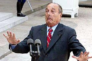 Chirac taburcu oldu.15532