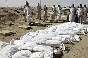 Irak'ta toplu mezarda 30 ceset bulundu.19254