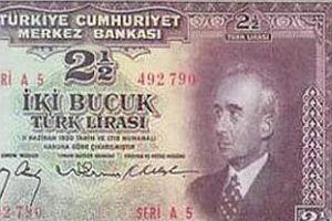 CHP döneminde Atatürk'ün resmi kaldırılan paralar.17316