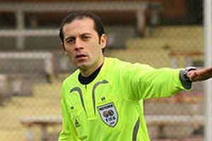 UEFA, Cüneyt Çakır'a görev verdi.11802