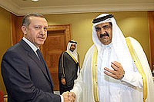 Erdoğan 301. madde tartışmalarına Katar'dan katıldı.15188