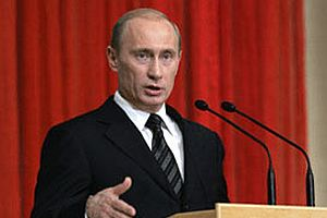 Putin: G�rcistan kanl� macera pe�inde.10688