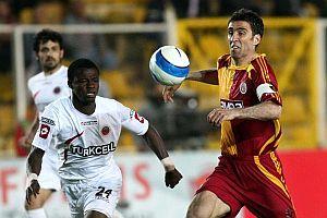 Galatasaray-Gençlerbirliği mücadelesi 1-1 sona erdi.17854