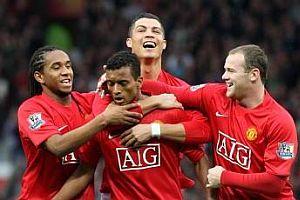 Nani ve C.Ronaldo'dan futbol �ov.16762