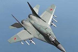 Macaristan'da savaş uçağı düştü.9224