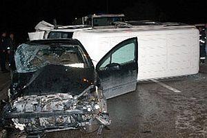 İzmir'de trafik kazası: 9 yaralı.16331