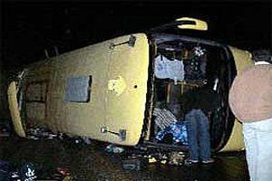 Filipinler'de otobüs dereye uçtu: 9 ölü.14108