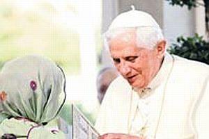 Papa'ya barış elçisi ol çağrısı.10553