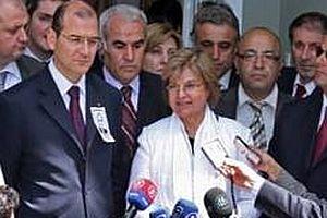 Tansu Çiller DP lideri Süleyman Soylu'yu ziyaret etti.16560