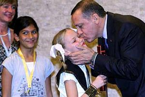 Filistinli çocuğun Başbakan Erdoğan'dan özel isteği.16125
