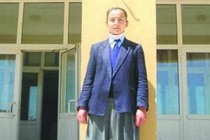 Abdullah Gül köy çocuğu Aysel'i Ankara'ya davet etti.44902