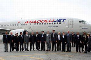 Anadolujet'in ilk uçuşu 23 Nisan'da yapıldı.13608