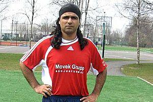Estonya'da bir Türk futbolcu.20886