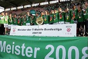 Rapid Vienna şampiyon.21395