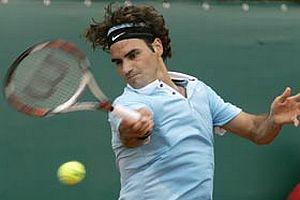 Federer çiftlerde kazandı.10876