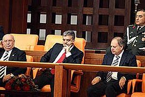 Meclis'teki özel oturuma Orgeneral Büyükanıt katılmadı.19213