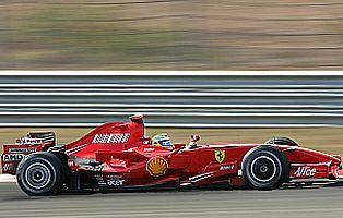 İlk iki sıra Ferrari'nin.30910
