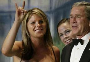 Bush'un kızı Jenna evlendi.10321