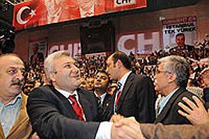 CHP Lideri Deniz Baykal'dan, Tuncay Özkan'a destek.20589