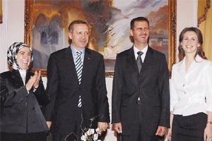 Erdoğan Esad'la görüştü.13320