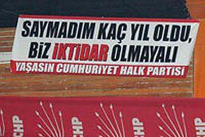 Türk demokrasisinin CHP ile imtihanı.17221