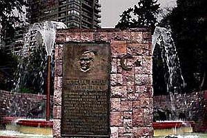 Şili'de Atatürk rölyefi.25861