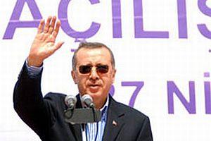 Erdoğan Bursa'ya gitti.12123
