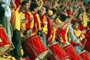 Galatasaray tribünü gönül aldı.19815