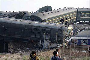 Çin'de meydana gelen feci kazada ölü sayısı 70 oldu.17395
