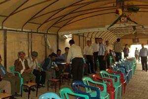 PKK'lı Aybi için taziye çadırı kuruldu!.14126