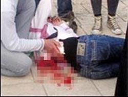 İki kızın bıçaklı kavgası.9658