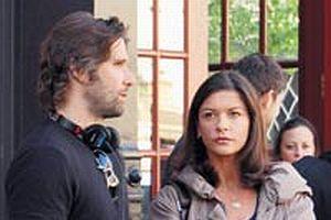 Catherine Zeta-Jones New York'ta film çekiyor.13571