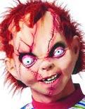 Torununu Chucky sandı ve öldürdü.6728
